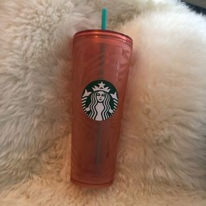 🆕Starbucks peach tumbler